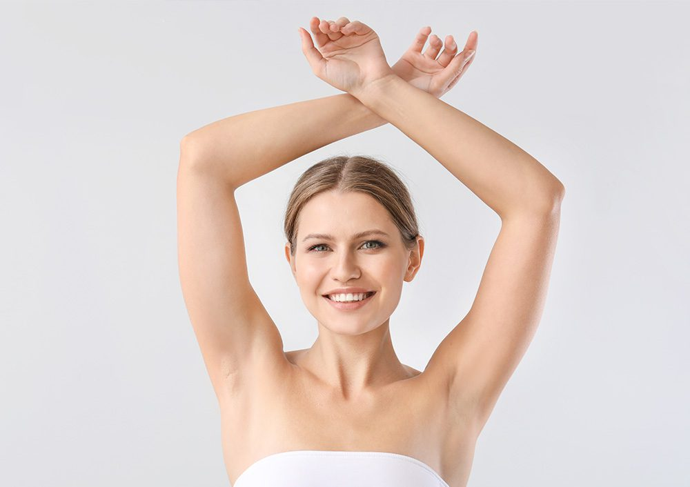 Excessive sweating treatment