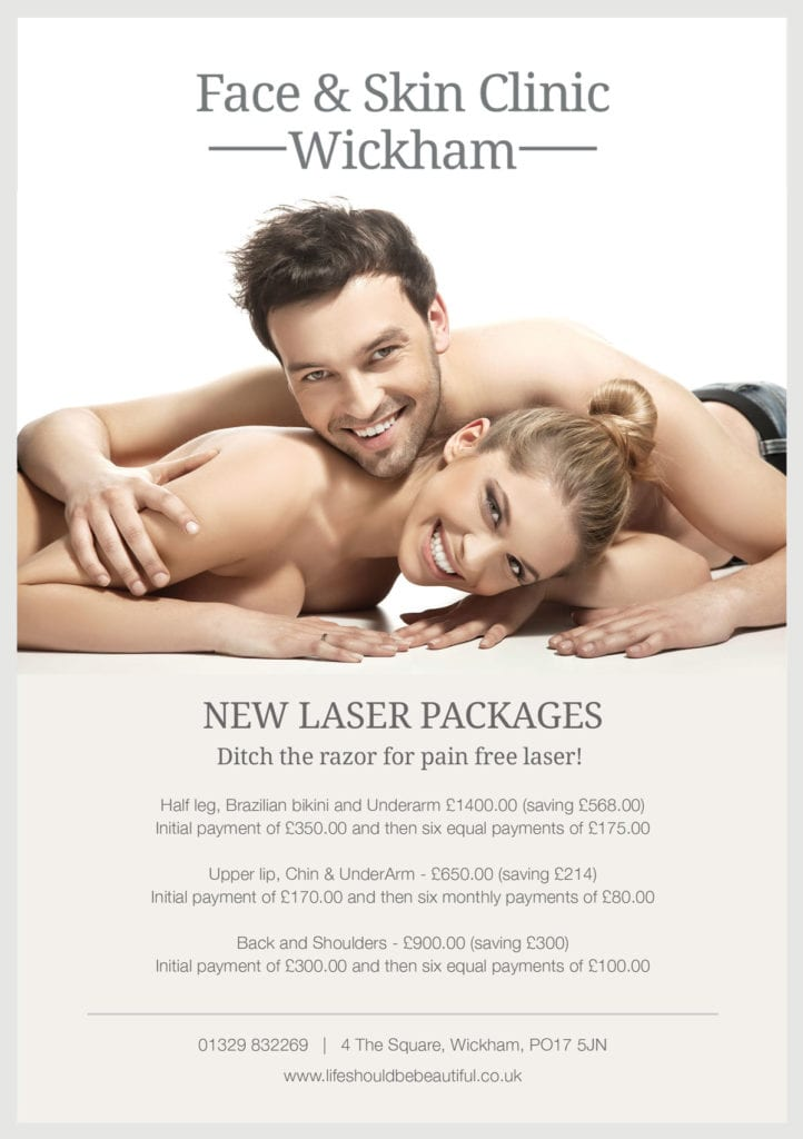New Laser Packages